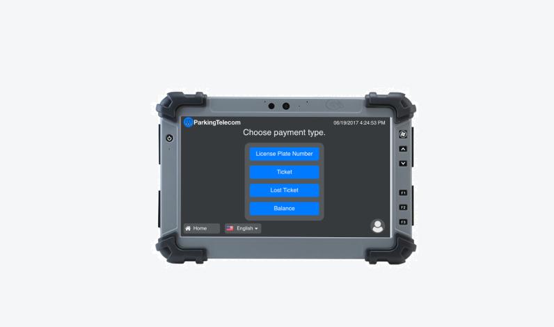 mobile-POS Hardware Components Parking Telecom